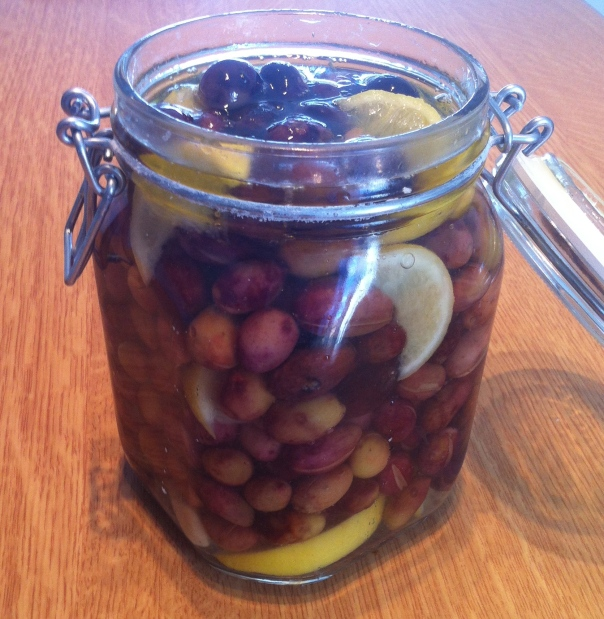 Magdi's pickled olives