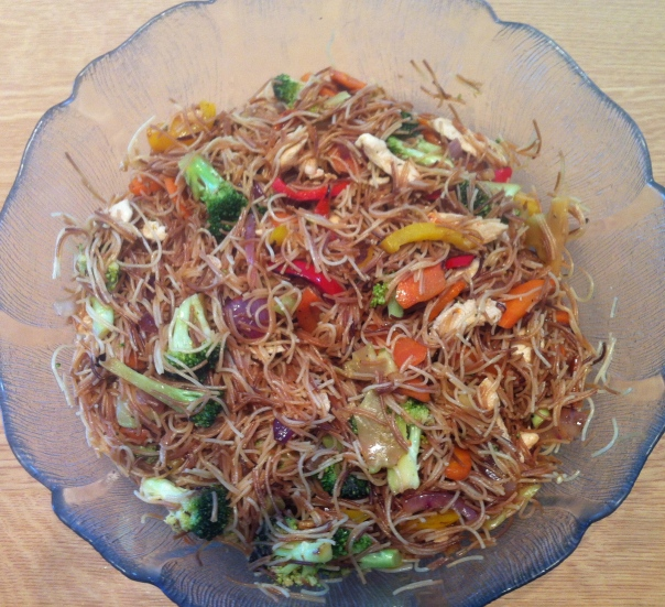 Vermicelli Salad-finishd product