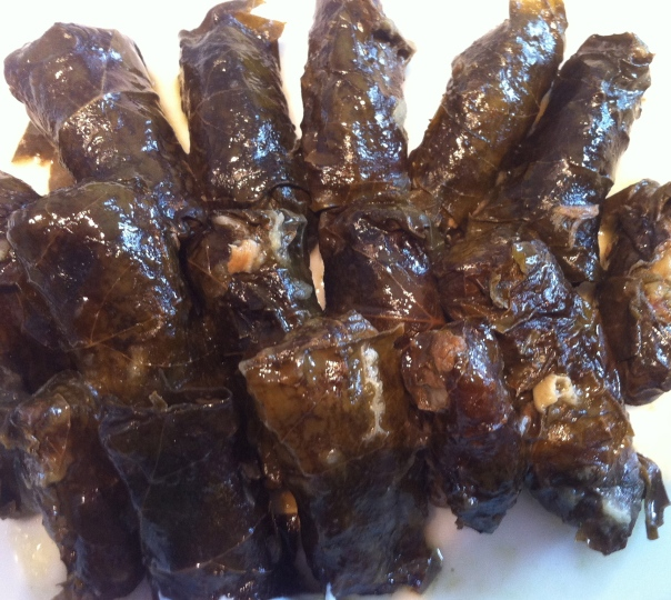 Stuffed grape leaves-17