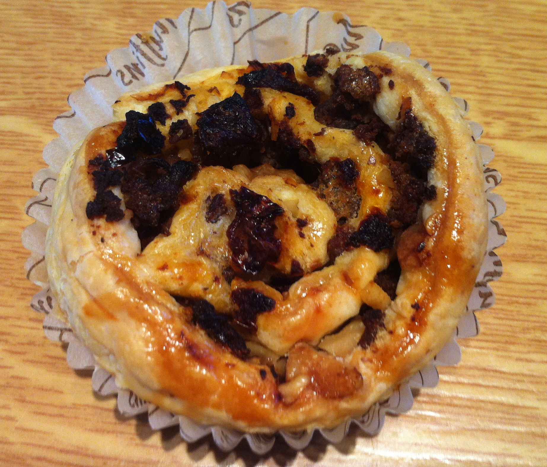Beef & Walnut Pastry Swirls-finished product