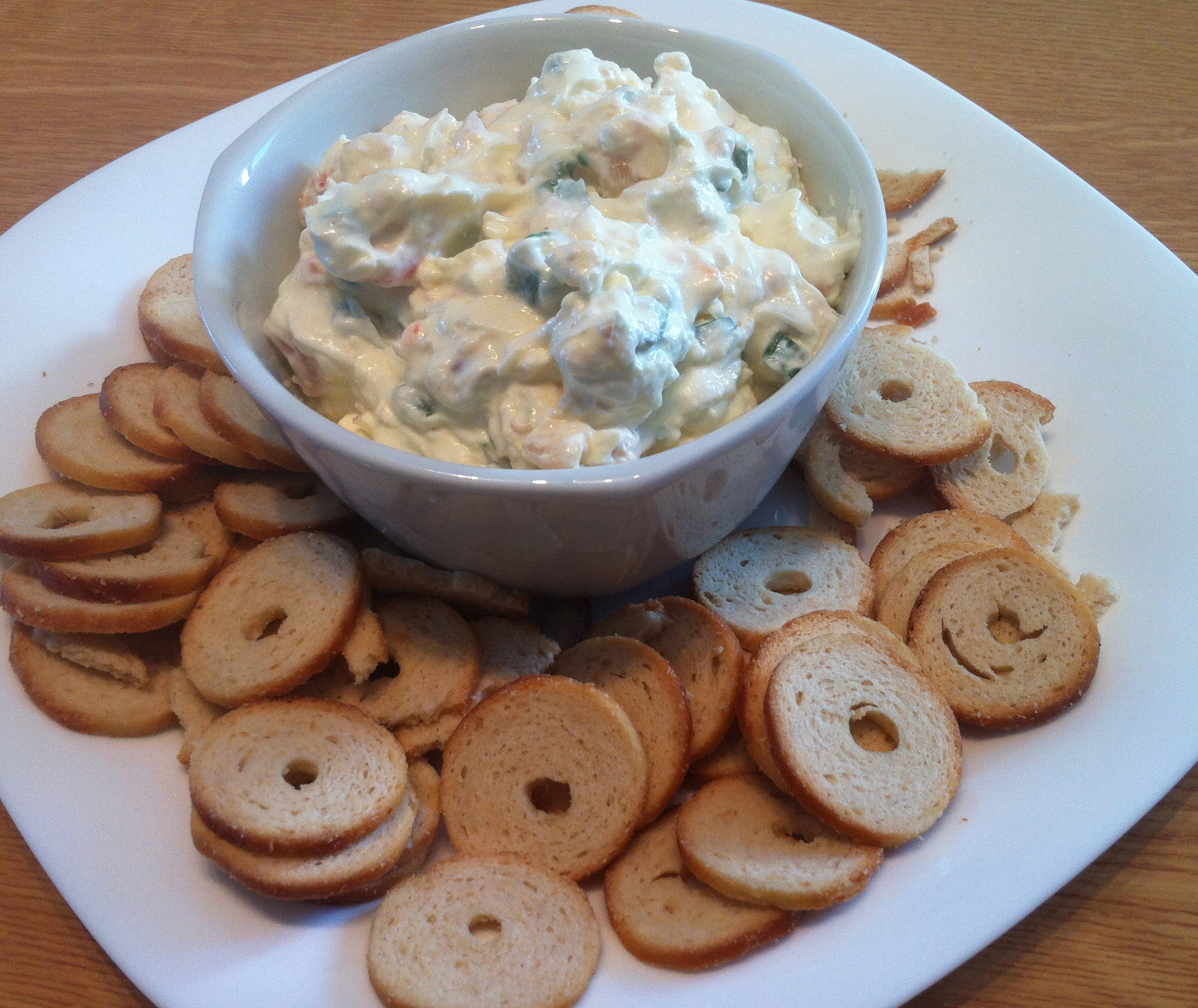 Shrimp & Cream Cheese dip-4